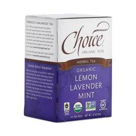 Organic Lemon Lavender Mint Tea
