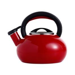 Red Sunrise Tea Kettle, 1.5 Quart