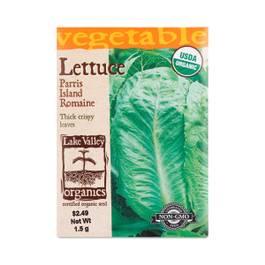 Parris Island Romaine Lettuce Seeds
