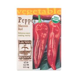 Red Marconi Pepper Seeds