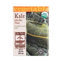 Organic Heirloom Italian Nero Toscana Kale Seeds
