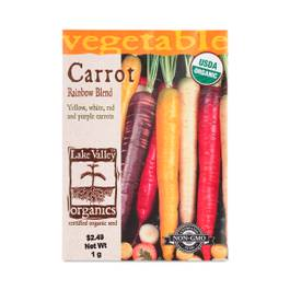 Organic Carrot Rainbow Blend