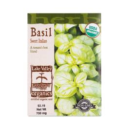 Italian Sweet Basil Seeds