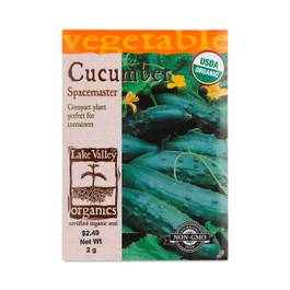 Spacemaster Cucumber Seeds