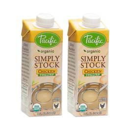 Organic Simply Stock, Chicken Unsalted, 2-pack
