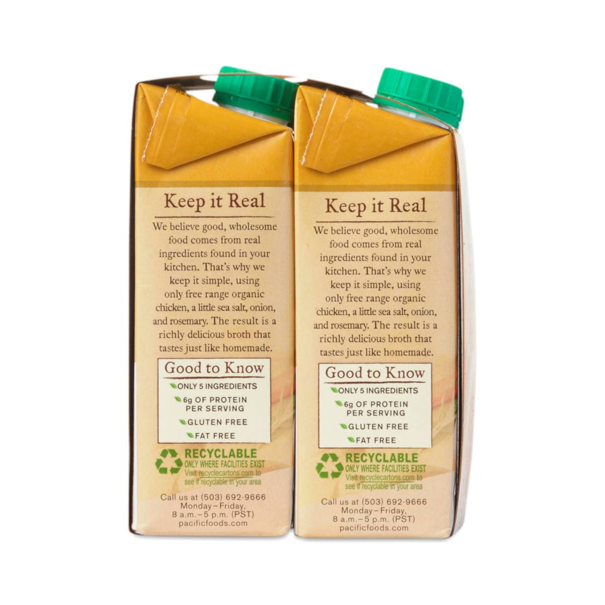 free range chicken broth by pacific foods   thrive market