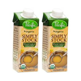 Organic Simply Stock - Vegetable Unsalted (2-pack)