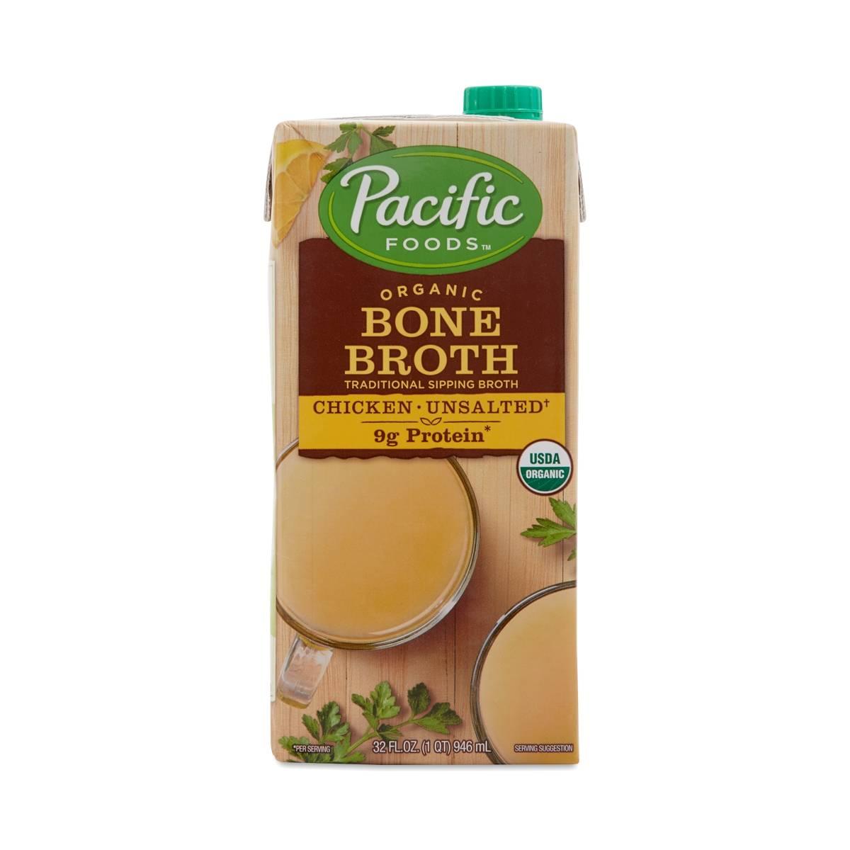 Pacific Foods Chicken Bone Broth Thrive Market