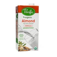 Organic Unsweetened Almond Beverage - Vanilla