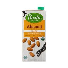 Organic Almond Beverage, Unsweetened Vanilla