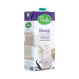 Non-GMO Hemp Beverage - Unsweetened Vanilla