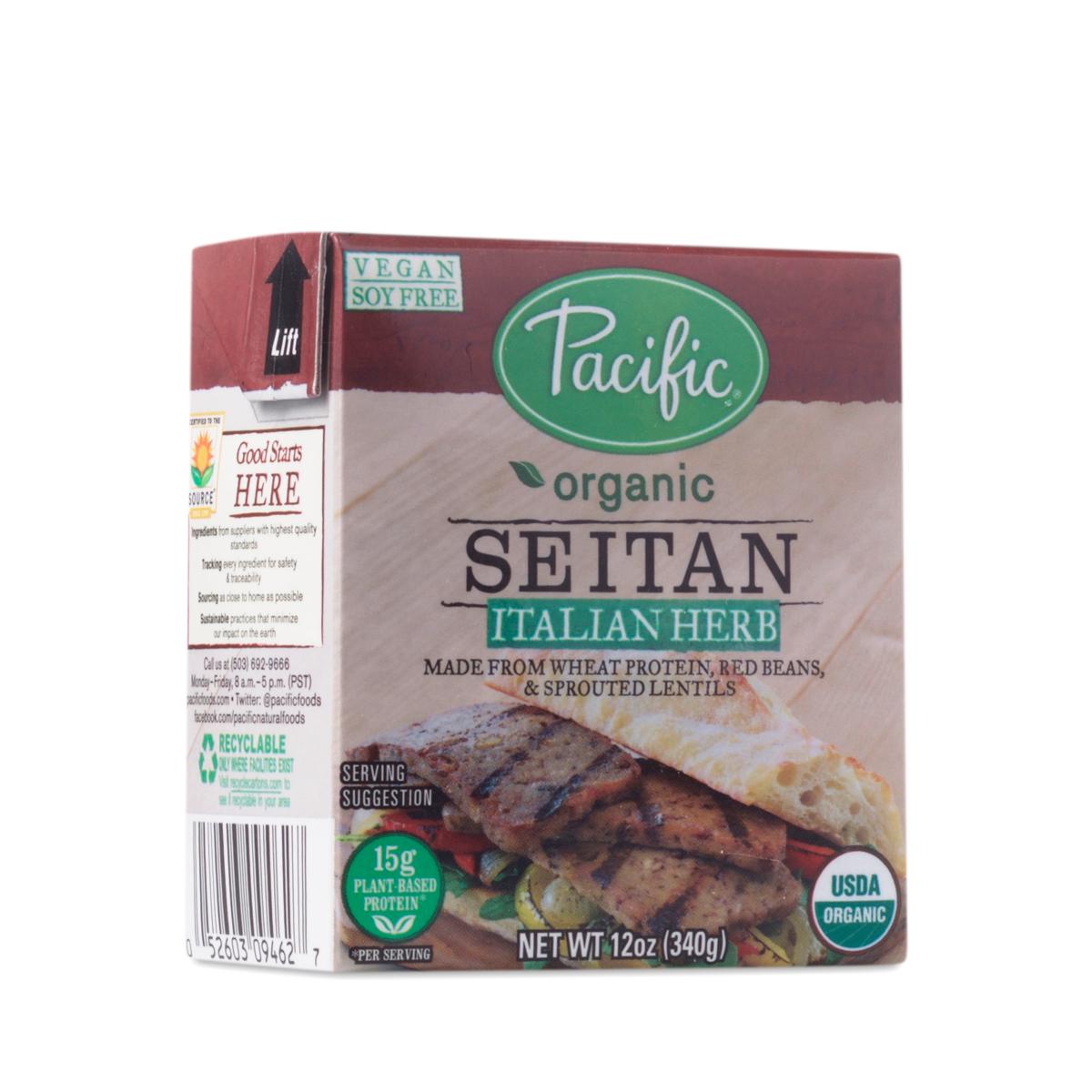 Pacific Foods Organic Seitan, Italian Herb