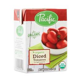 Organic Diced Tomatoes In Light Puree