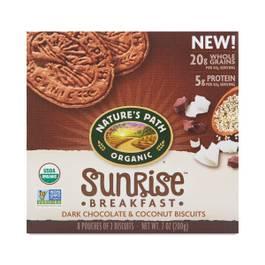 Sunrise Breakfast Biscuits - Dark Chocolate & Coconut