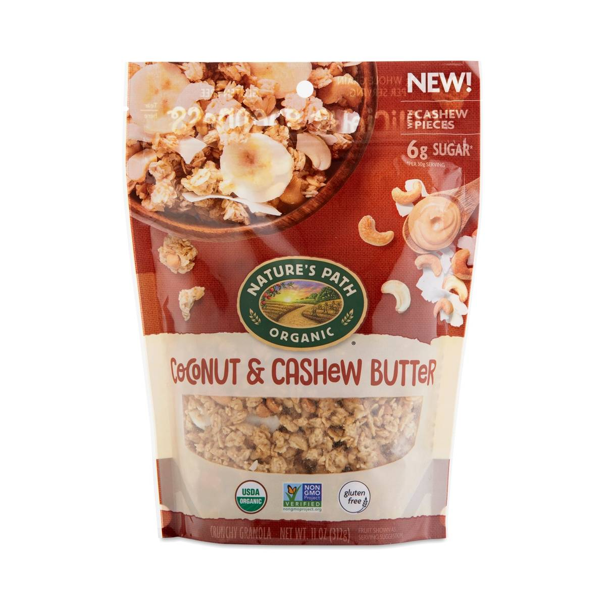 Nature's Path Coconut & Cashew Butter Granola