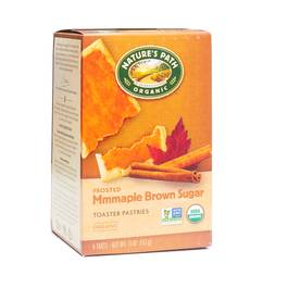 Frosted Maple Brown Sugar Toaster Pastries