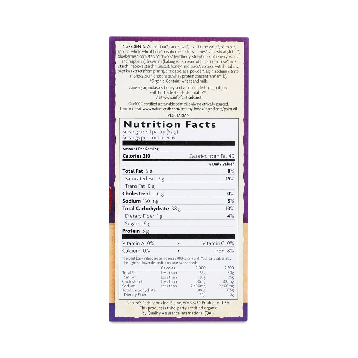 Organic Frosted Acai Toaster Pastries Thrive Market
