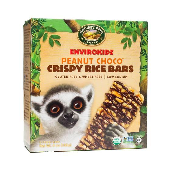 Organic Peanut Choco Crispy Rice Bars