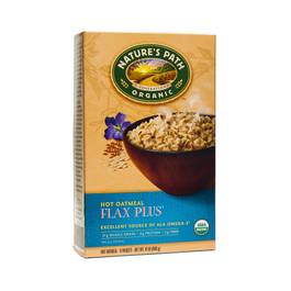 Organic Hot Oatmeal - Flax Plus