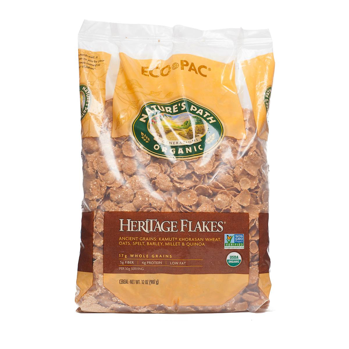 Organic Heritage Flakes Cereal By Natures Path Thrive Market Quaker Instant Oatmeal Jar 1 Carton 12 Pcs P