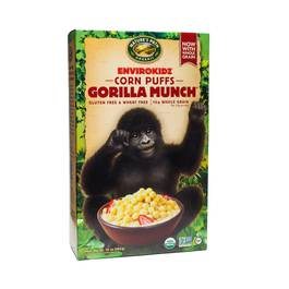 Organic Gorilla Munch® Corn Puffs Cereal