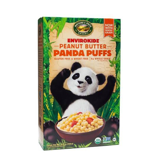 Organic Peanut Butter Panda Puffs™ Cereal