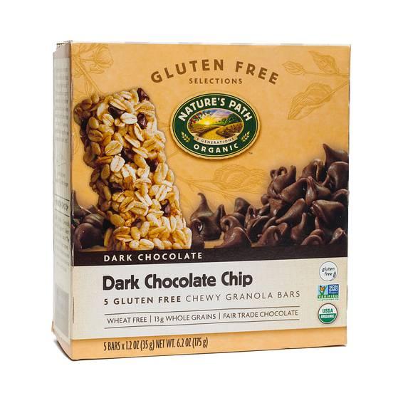 Organic Chewy Granola Bar, Dark Chocolate Chip