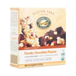 Organic Chewy Granola Bar, Chunky Chocolate Peanut