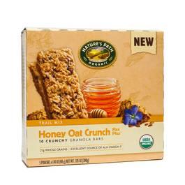 Organic Crunchy Granola Bar - Honey Oat Crunch Flax Plus