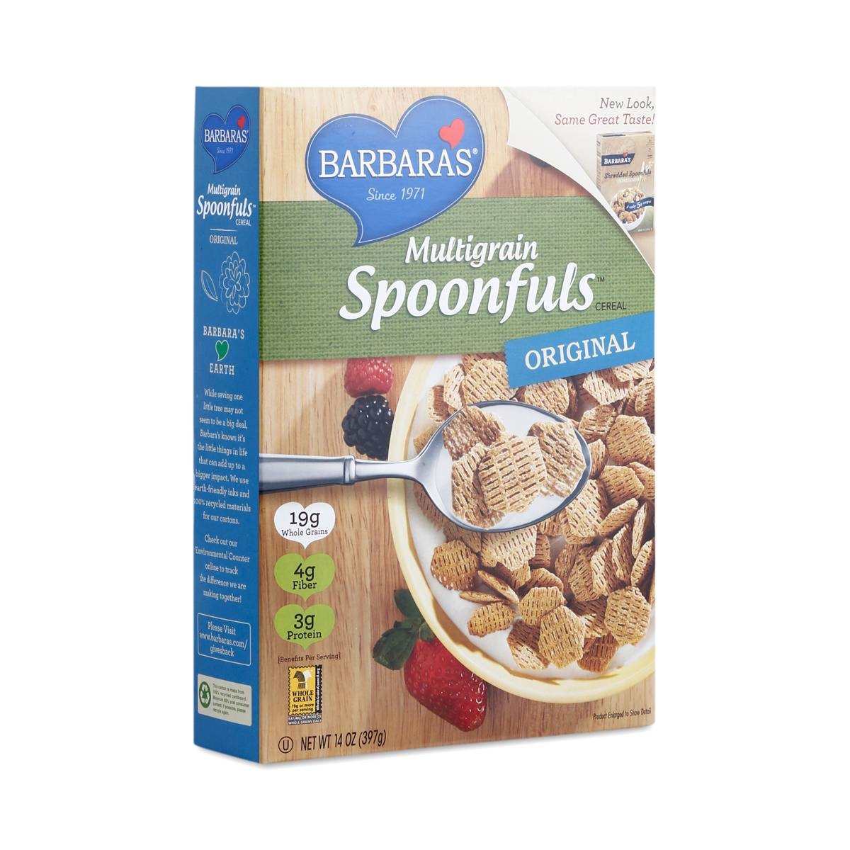 Multigrain Spoonfuls Cereal By Barbara's Bakery