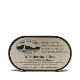 All Natural Wild Herring with Cracked Pepper