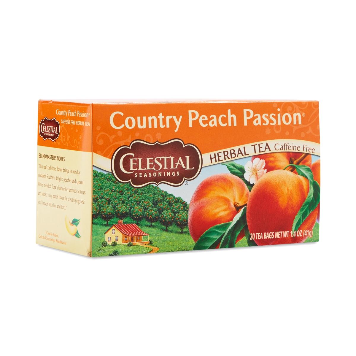 Country peach tea