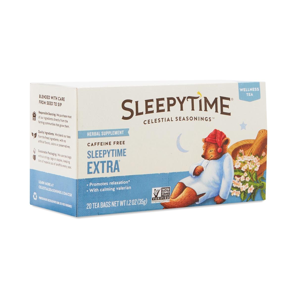 Sleepytime Extra Tea By Celestial Seasonings Thrive Market