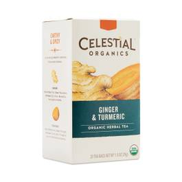 Ginger Tumeric Herbal Tea