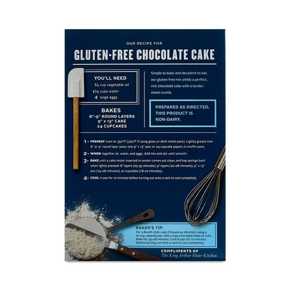 Gluten Free Chocolate Cake Mix by King Arthur Flour ...