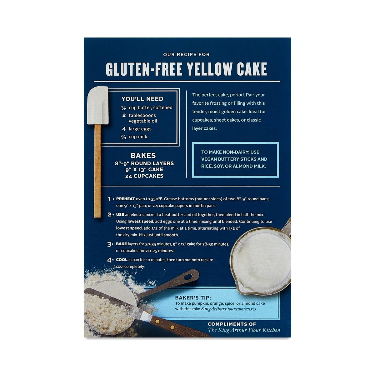 Gluten Free Yellow Cake Mix by King Arthur Flour - Thrive ...