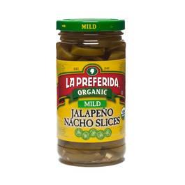 Organic Jalapeño Nacho Slices/Mild
