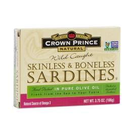 Skinless Boneless Sardines in Oil