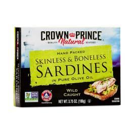 Skinless Boneless Sardines in Olive Oil