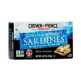 Skinless Boneless Sardines in Water