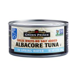 Solid White Albacore Tuna - No Salt Added