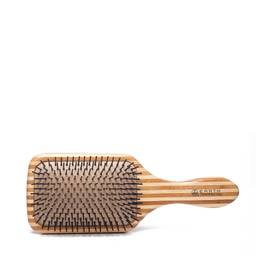 Bamboo Lacquer Pin Paddle Brush