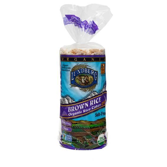 Organic Brown Rice Cakes - Salt Free