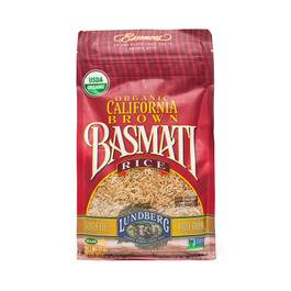 Organic California Brown Basmati Rice