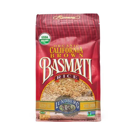 Organic California Brown Basmati Rice