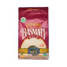 Organic California White Basmati Rice