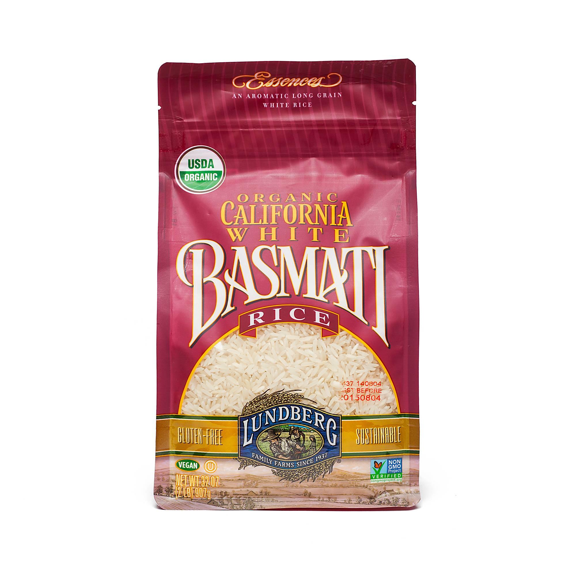 Lundberg Organic California White Basmati Rice - Thrive Market