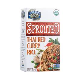 Organic Sprouted Thai Red Curry Rice