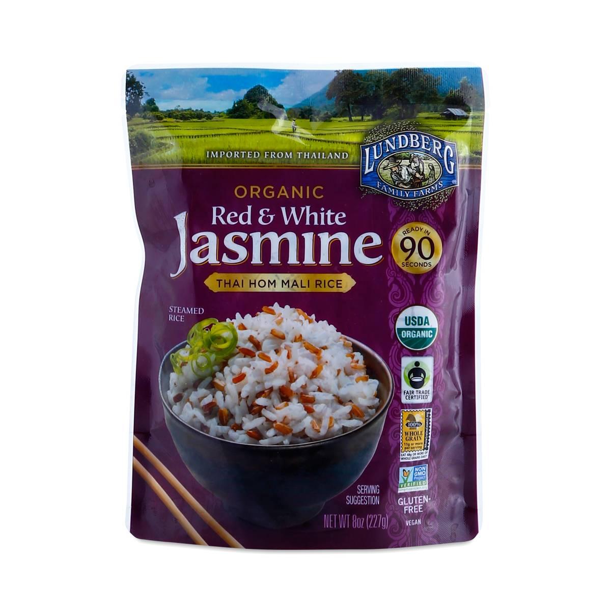 Organic Red & White Jasmine Rice by Lundberg Farms