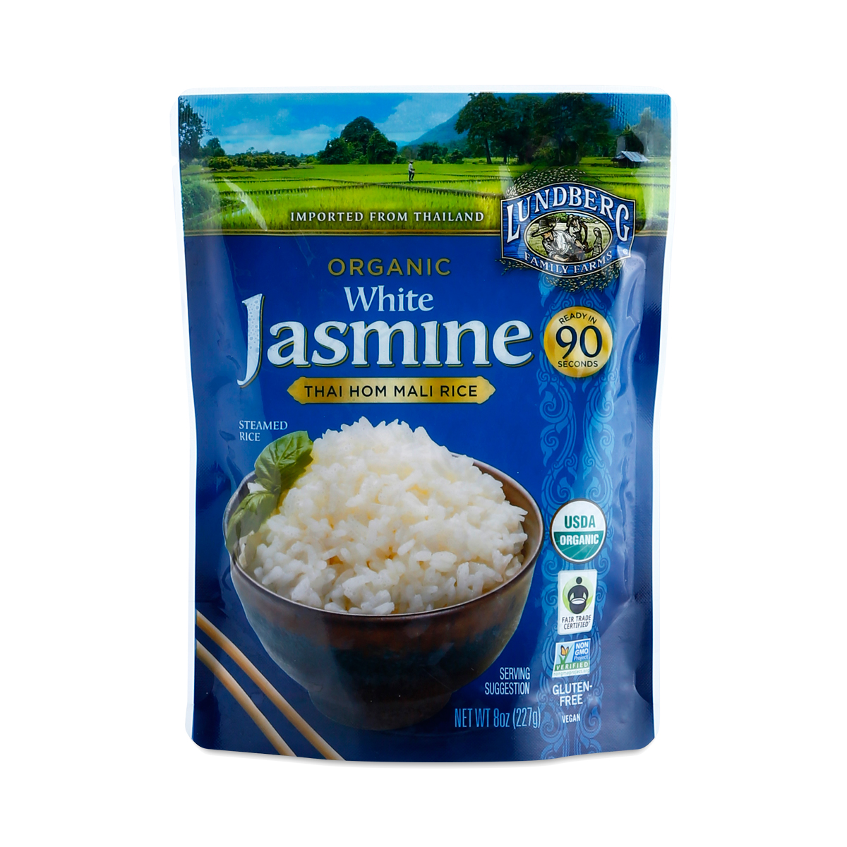 Lundberg Farms Organic Thai White Jasmine Rice - Thrive Market